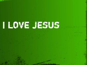 I Love Jesus Christian Wallpaper